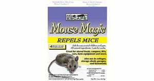 Mouse Magic Repels Mice