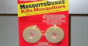 Mosquito Dunks Kills Mosquitos