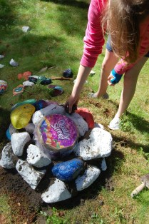 Time Capsule Project with Lumsden Primary School,Lumsden, Aberdeenshire, June 2010