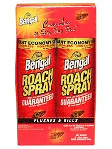 Bengal roach spray