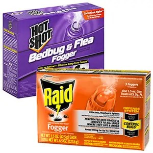 Raid and Hot Shot Foggers