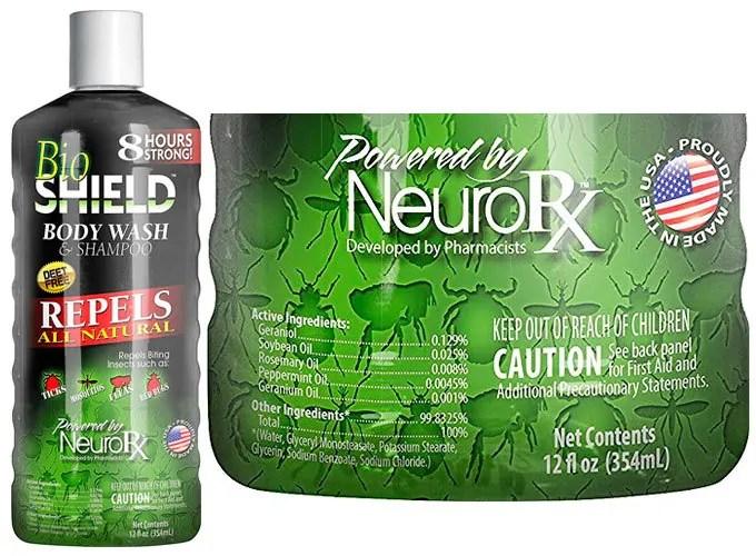 Defence body wash & shampoo by Bio SHIELD