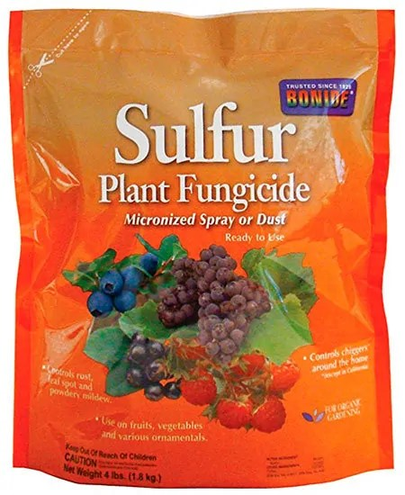 Sulfur Plant Fungicide by Bonide