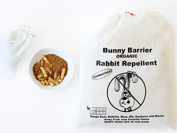 Bunny barrier - organic rabbit repellent