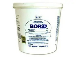 CB Borid Boric Acid Dust