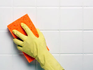 Clean the walls