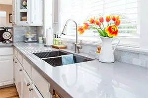 Clear kitchen