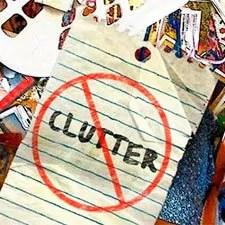 Put away clutter