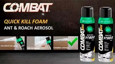 Combat Ant Foam Aerosol