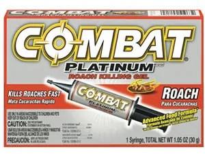 Combat Platinum Roach Killing Gel