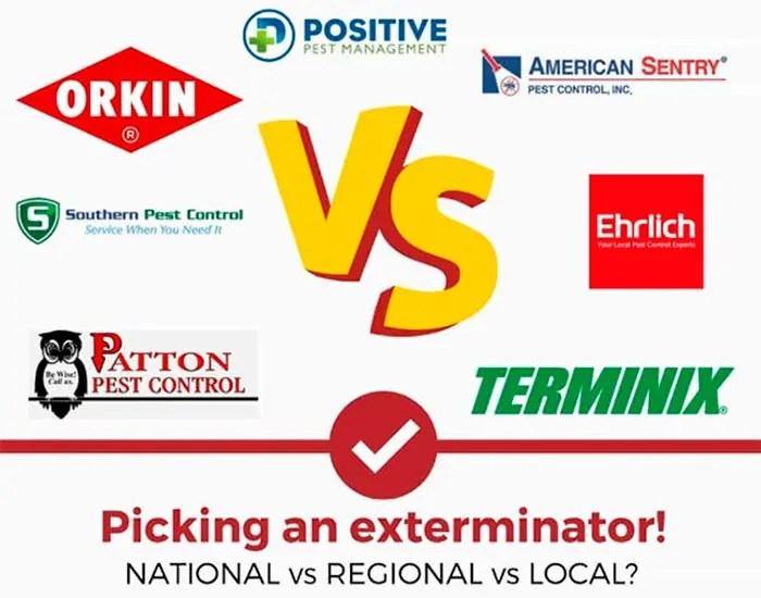Exterminator companies