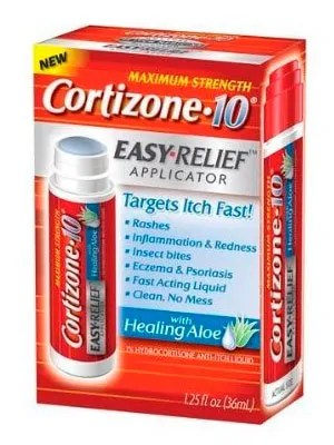 Cortizone 10 with 1% hydrocortisone