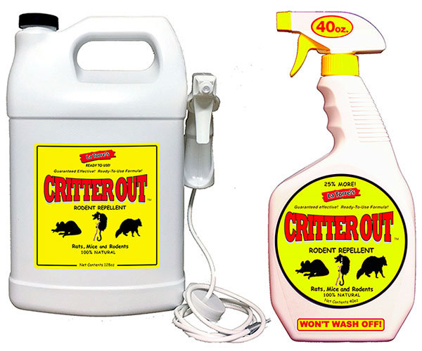 Rodent Repellent by Critter Out