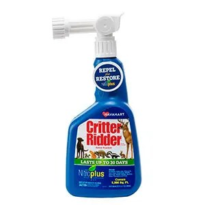 Critter Ridder New Animal Repellent with Nitroplus