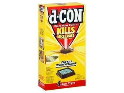 d-CON trays