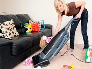 Tip 1 to kill fleas: daily vacuuming