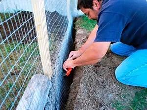 Fencing method