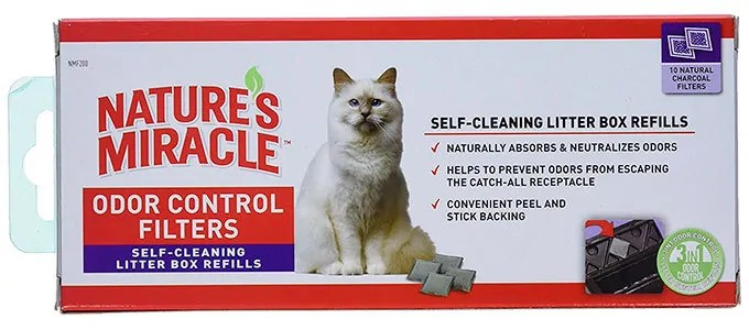 Odor Control Filters by Natures Miracle