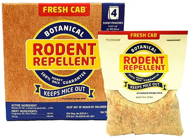 Botanical Rodent Repellent by Fresh Cab