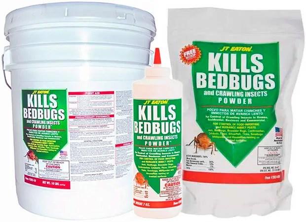 Kills Bedbugs by JT Eaton