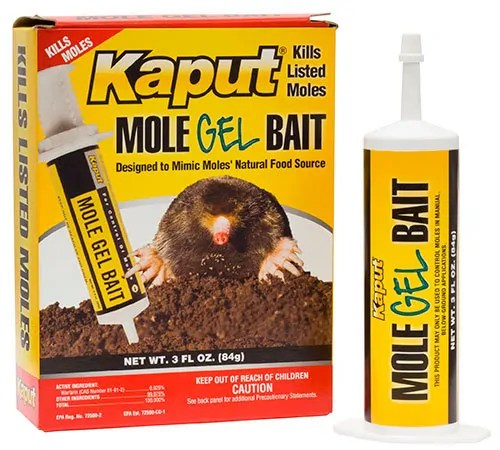 Kaput Warfarin Mole gel bait