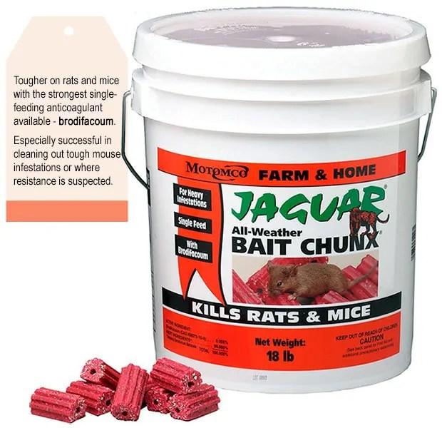 Jaguar All-Weather Bait Chunx by Motomco