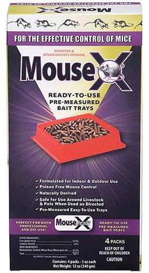 MouseX Bait Trays