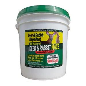 Granular Deer and rabbit repellent by Nature's Mace