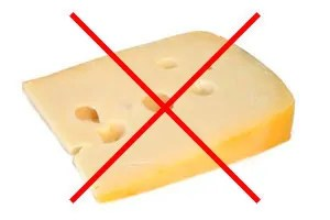 No cheese for mice