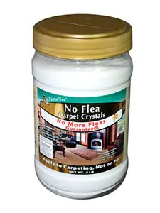Apply No Flea Carpet Crystal Powder product