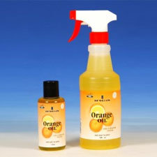 Orange oil for ants control