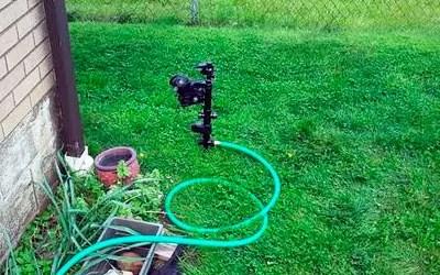 Orbit Motion Activated Sprinkler