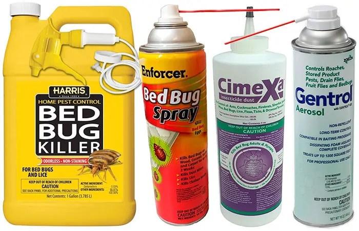 Bed bug pesticides