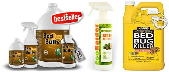 BedBug Bully, EcoRaider and Bed Bug Killer