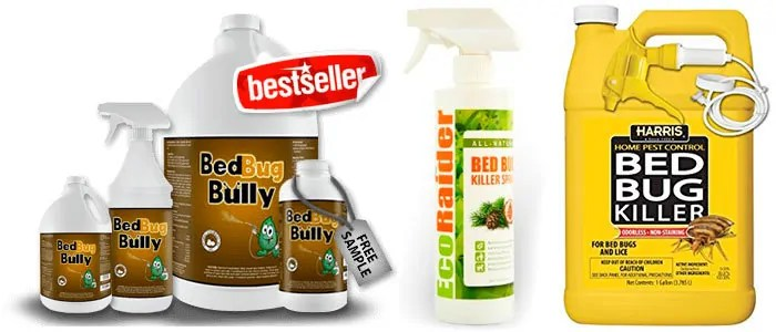 BedBug Bully, EcoRaider and Bed Bug Killer