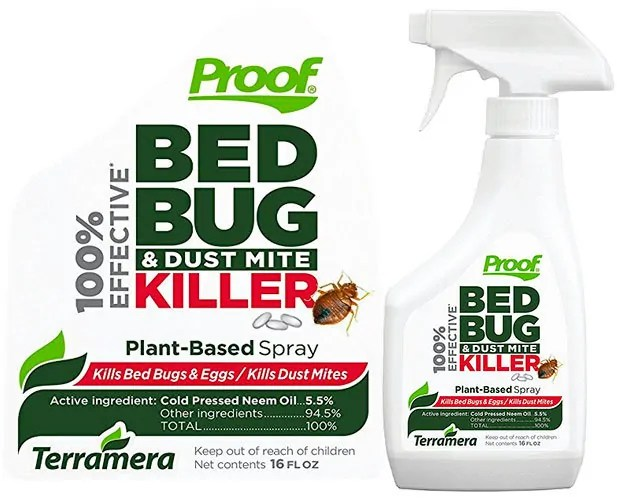 Bed bug Killer Spray by Proof