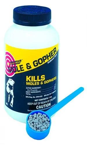 PROZAP Mole & Gopher zinc phosphide
