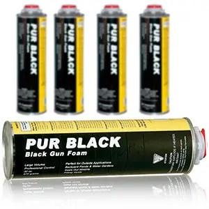 Pur black gun foam
