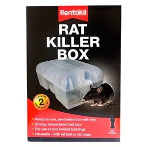 Rat killer box by Rentokil