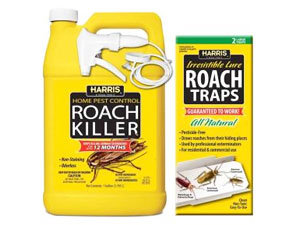 Traps and chemicals for cockroach killer