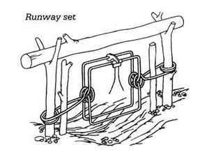 Runway set technique