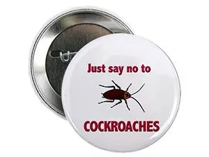 Just say no to cockroaches