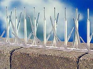 Plastic spikes