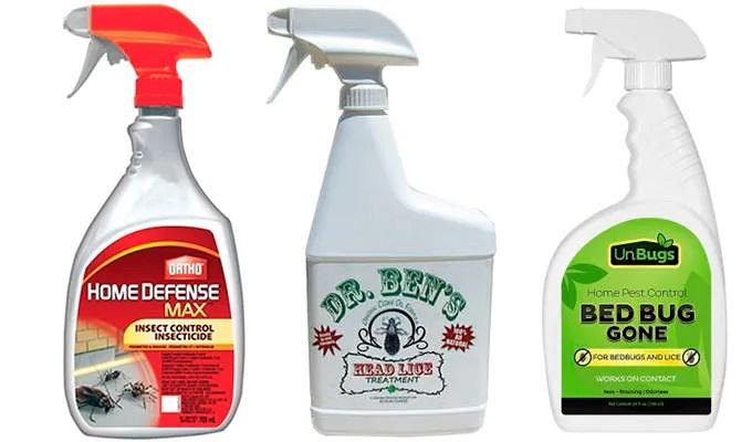 Sprays: Ortho, Dr.Ben's, UnBugs