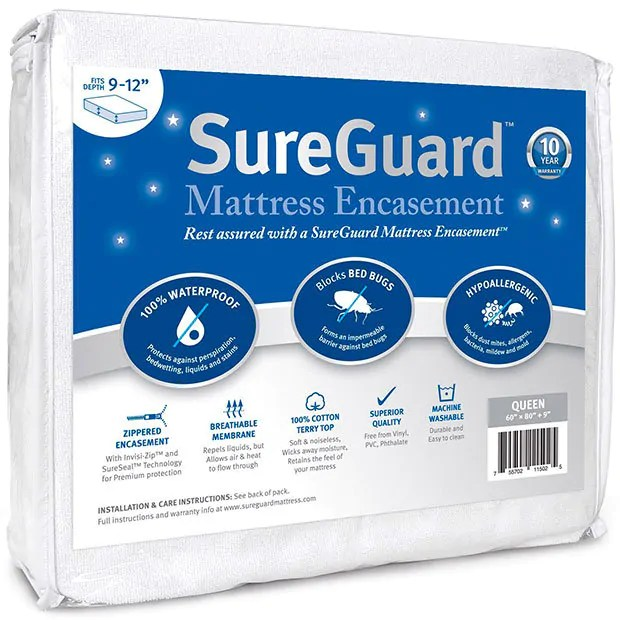 Mattress Encasement by SureGuard