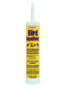 Tanglefoot bird repellent