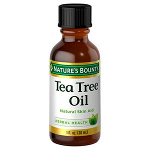 Tea tree oil by Nature's Bounty