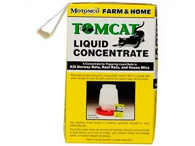 Liquid Concentrate Poison for Mouse by Tomcat