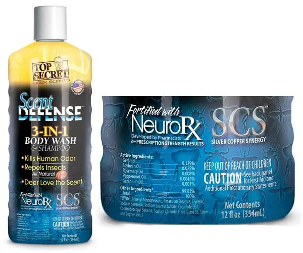 Scent Defence with NeuroRx by Top Secret
