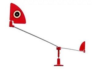 Visual crow deterrent